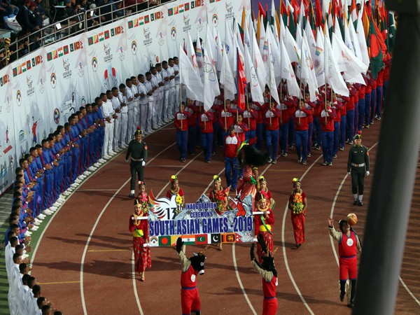 13th edition of South Asian Games inaugurated in Kathmandu, Nepal on Sunday.