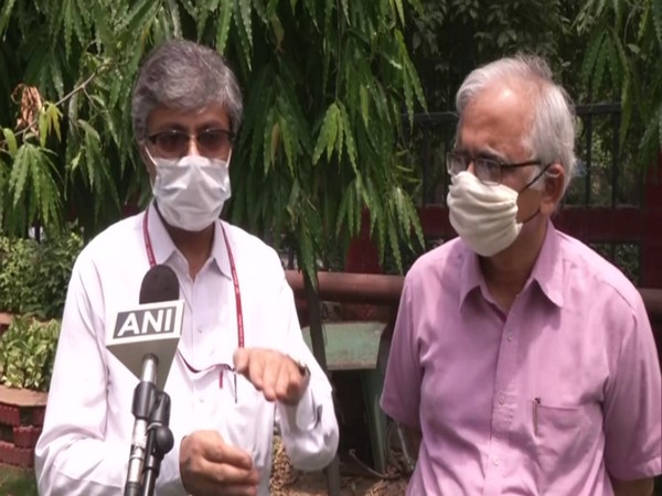 AYUSH secretary Vaidya Rajesh Kotecha (left) speaking to ANI in New Delhi on Wednesday.