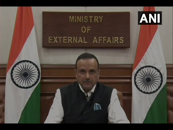 Anurag Srivastava, Ministry of External Affairs Spokesperson, addressing the press during a weekly briefing on Thursday