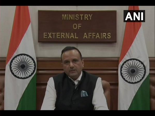 Anurag Srivastava, MEA spokesperson, addressing a weekly briefing