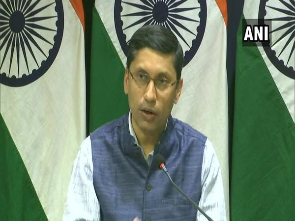 Ministry of External Affairs (MEA) spokesperson Arindam Bagchi.