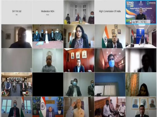 The 4th PBD Conference 'Forging Media and Entertainment Partnerships to showcase India@75' organised by Ministry of External Affairs (Source: MEA/YouTube)