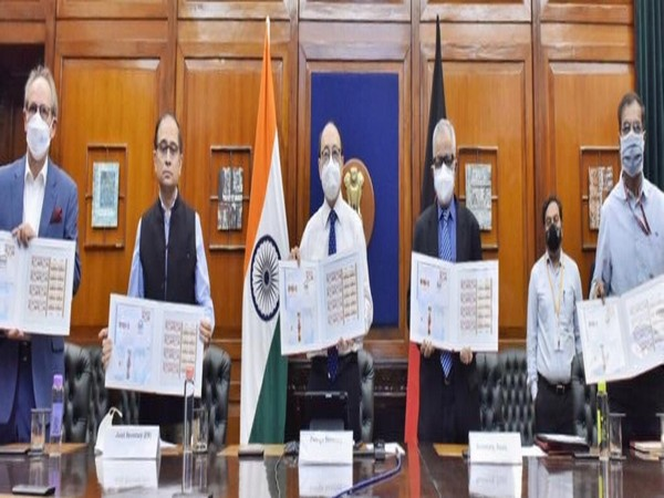 Foreign Secretary Harsh V Shringla released a commemorative postage stamp on 70th anniversary of India-Germany diplomatic relations
