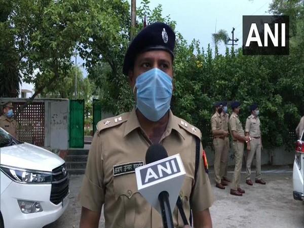 Meerut Senior Superintendent of Police Ajay Sahni. (Photo/ ANI)