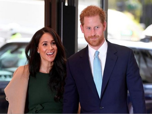 Meghan, the Duchess of Sussex and Prince Harry.