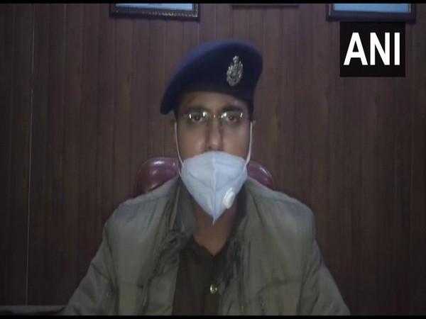 Dehat Keshav Kumar, Superintendents of police talking to ANI on Monday. (Photo/ANI))