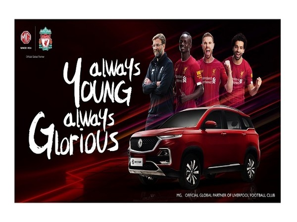 MG becomes official global car partner for Liverpool
