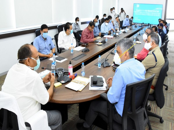 Centre's five-member inter-ministerial team on Thursday discussed the flood situation and relief measures in Telangana with the state government officials.