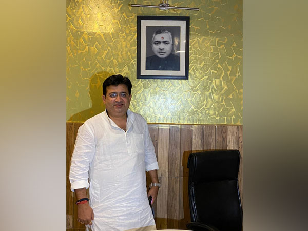 Congress leader Rishi Mishra. (Photo/ANI)