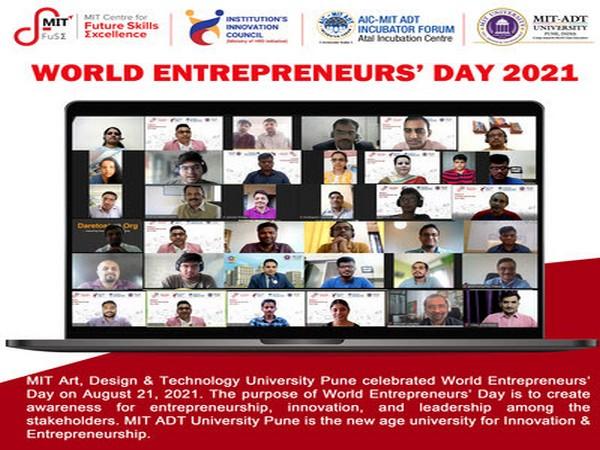 World Entrepreneurs' Day celebrated at MIT-ADT University Pune