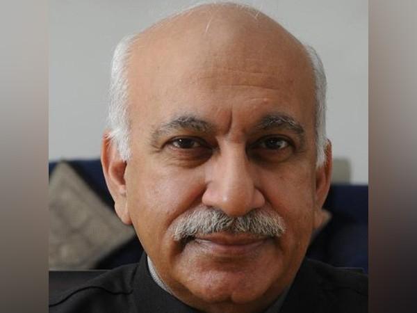 File photo of former union minister MJ Akbar