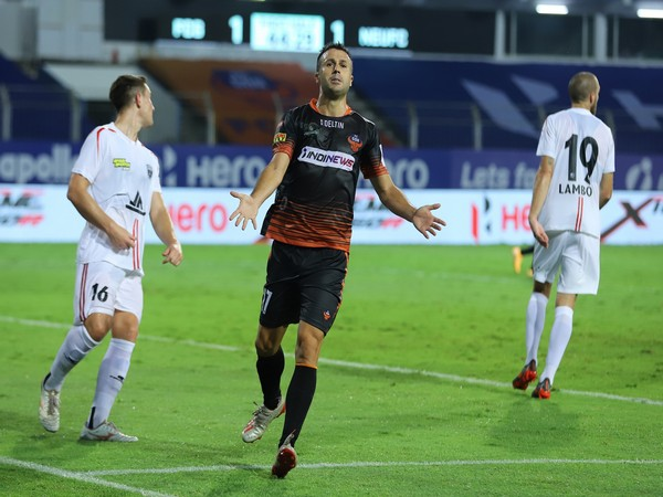 FC Goa's Igor Angulo yet again came to his team's rescue with an equaliser (Photo/ ISL)