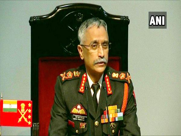 Army Chief General Manoj Mukund Naravane was speaking to the reporters in Delhi. (Photo/ANI)