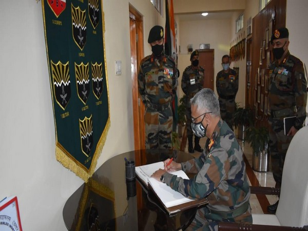Army Chief, M.M. Naravane reviews security situation in the North-East Region (Photo ANI)