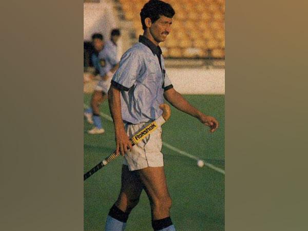 Former hockey captain MM Somaya (Image Hockey India)