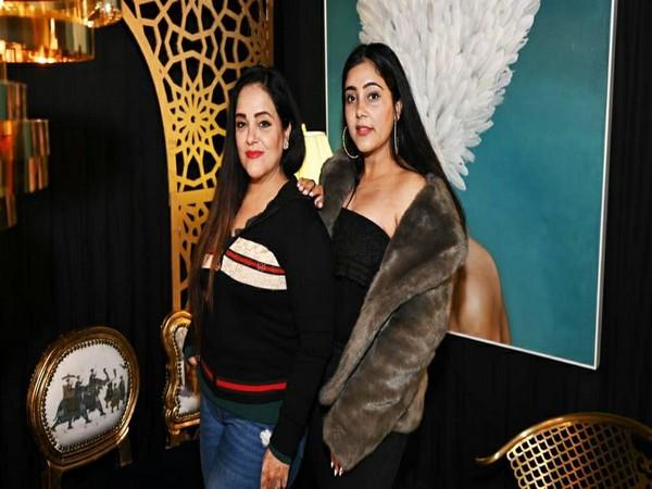 Harpreett and Mallika Singh