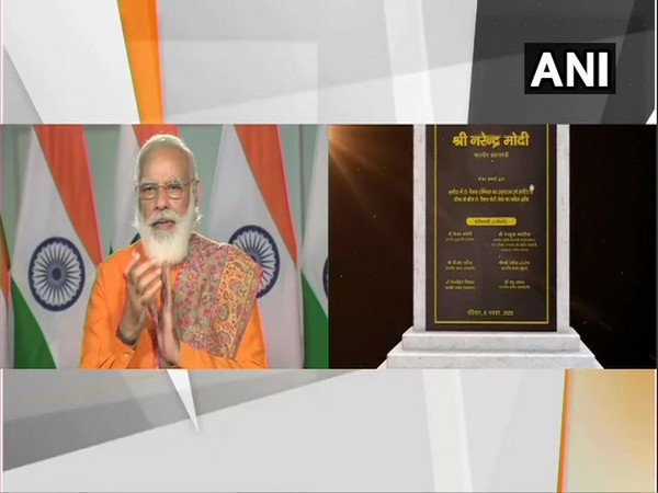 Prime Minister, Narendra Modi inaugurated Ropax ferry services via video conferencing in Gujarat. [Photo/ANI]