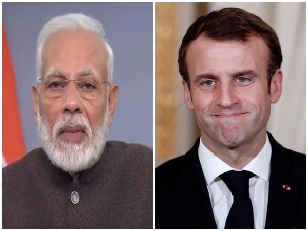 Prime Minister Narendra Modi and French President Emmanuel Macron
