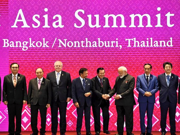 Prime Minister Narendra Modi at the East Asia Summit here on Monday