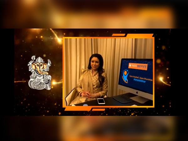 Vandana Luthra, Co-chairperson & Founder, VLCC at it's 19th Annual National Of VLCC Institute of Beauty & Nutrition