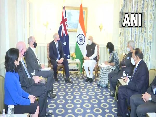 Prime Minister Narendra Modi on Thursday met his Australian counterpart, Scott Morrison