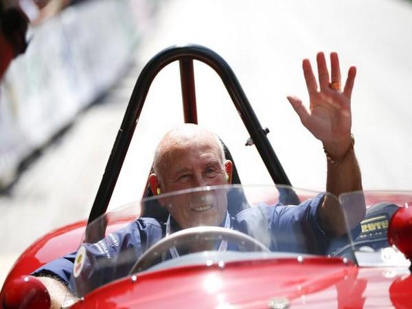 British Formula 1 driver Stirling Moss