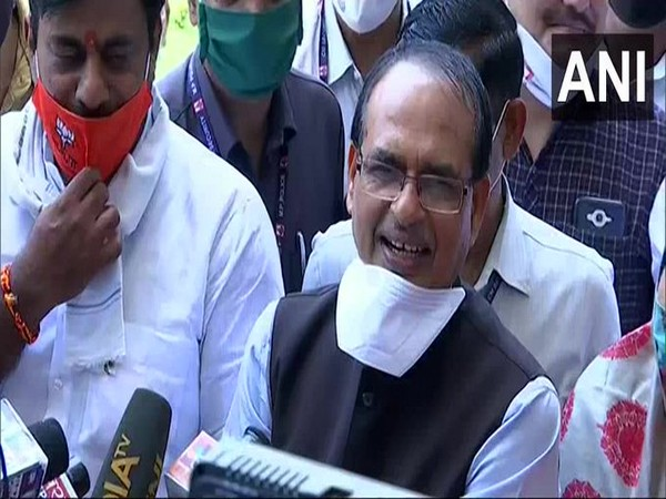 Chief Minister Shivraj Singh Chouhan speaking to reporters in Bhopal on Wednesday.