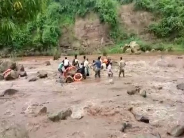 Two girls were rescued after they got stuck in Pench river in Madhya Pradesh on July 23. (File photo)