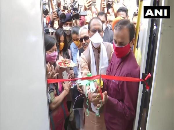 Madhya Pradesh CM inaugurates 'Energy Swaraj Yatra' (Photo/ANI)