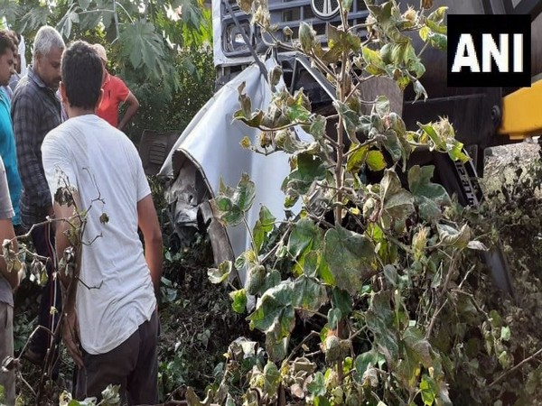 Visual from the accident site. Photo/ANI