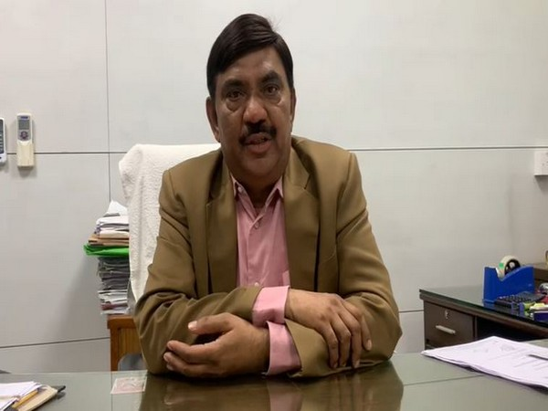 Animal Husbandry Department Director RK Rokde speaking to ANI in Bhopal on Thursday.