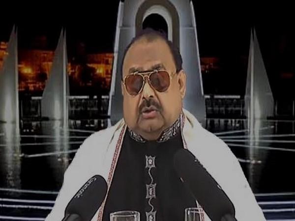 Muttahida Qaumi Movement leader Altaf Hussain