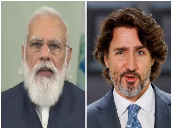 Prime Minister Narendra Modi, Canadian PM Justin Trudeau (file photo)