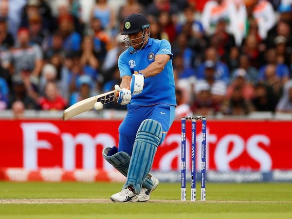 Indian wicket-keeper batsman MS Dhoni