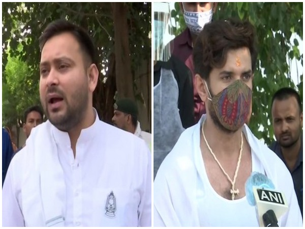 Tejashwi Yadav (RJD) and Chirag Paswan (LJP) have started campaigning for their respective parties in Bihar.