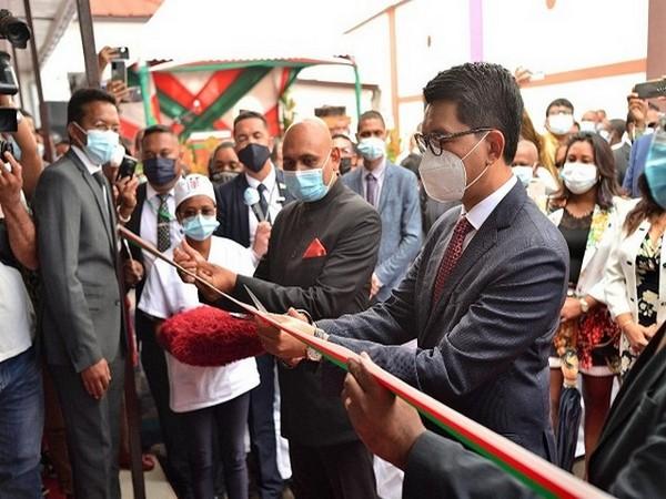 Madagascar President Andry Rajoelina inaugurates Bhabhatron-II