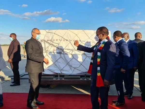Zimbabwe receives India made COVID-19 vaccines (Photo Credit: Twitter/S Jaishankar)