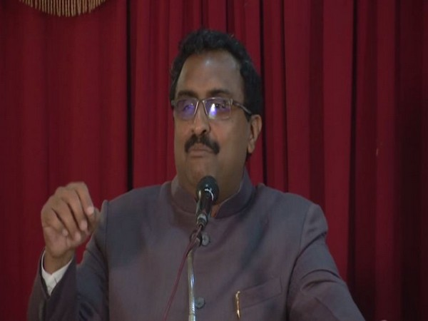 BJP national general secretary Ram Madhav speaking at an event in Kochi on Sunday. Photo/ANI