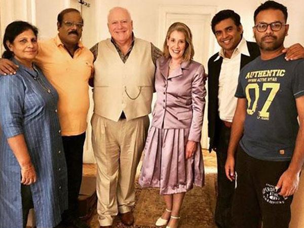 R. Madhavan with his team (Image Courtesy: Instagram)
