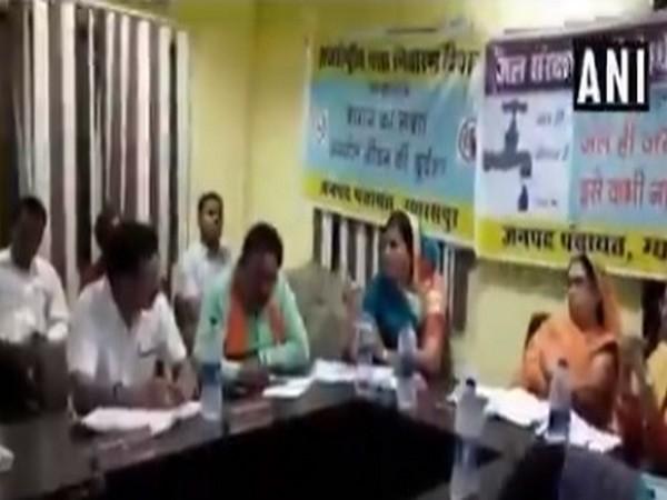 Video footage of Leena Jain threatening an official