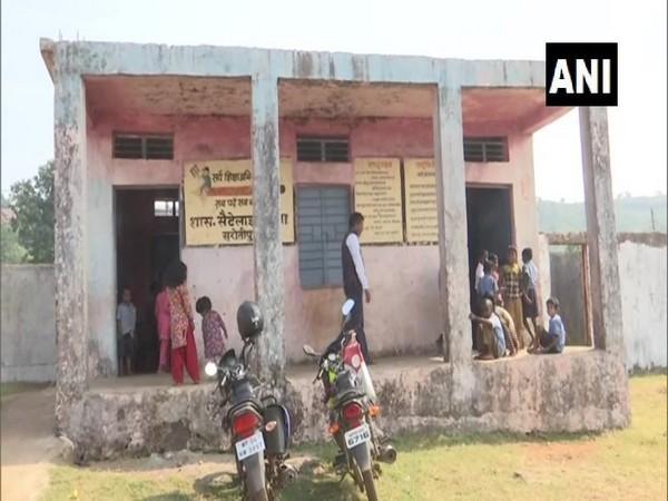 Visual of the school in Sarotipura, Bhopal. Photo/ANI