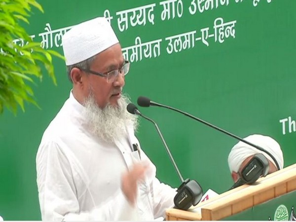 Jamiat Ulma-i-Hind on Thursday asserted that Jammu and Kashmir is an integral part of India. Photo/ANI
