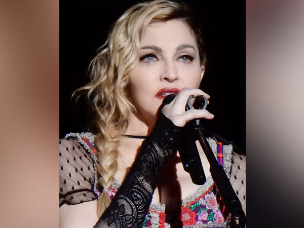 Musician, actor Madonna.