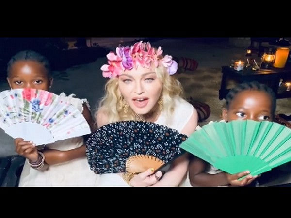A still from the video shared by singer Madonna (Image source: Instagram)