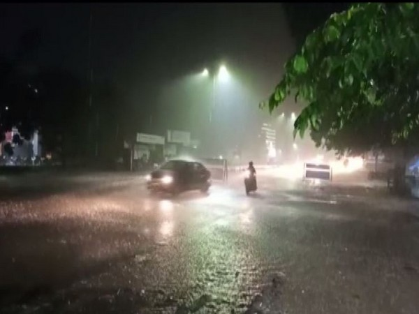 Rains lashed madurai for two hours in the intervening night of Friday and Saturday [Photo/ANI]