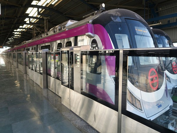 The Magenta Line of Delhi Metro (File photo)