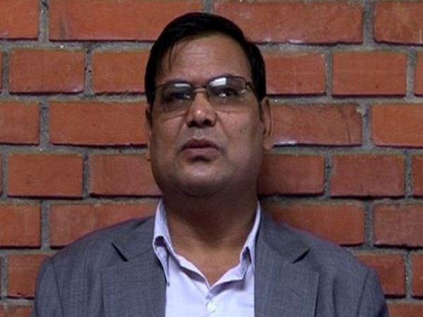 Nepal's former Parliament Speaker Krishna Bahadur Mahara (File photo)