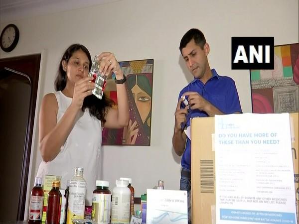 Dr Marcus Ranney and Dr Raina in Mumbai. (Photo/ANI)