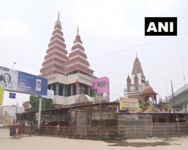 Patna's Mahavir temple. Photo/ANI