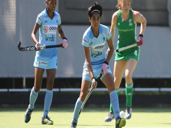India colts women's defender Mahima Choudhary (Photo/Hockey India Twitter)